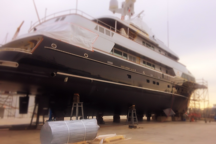 Yacht exhaust refit - TIO Yacht Exhaust Systems