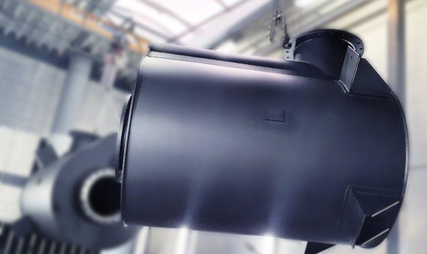 main engine dry exhaust